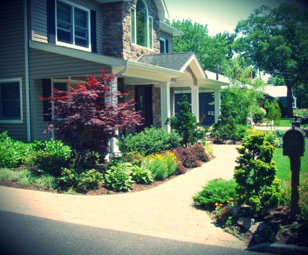landscaping front walkways landscape