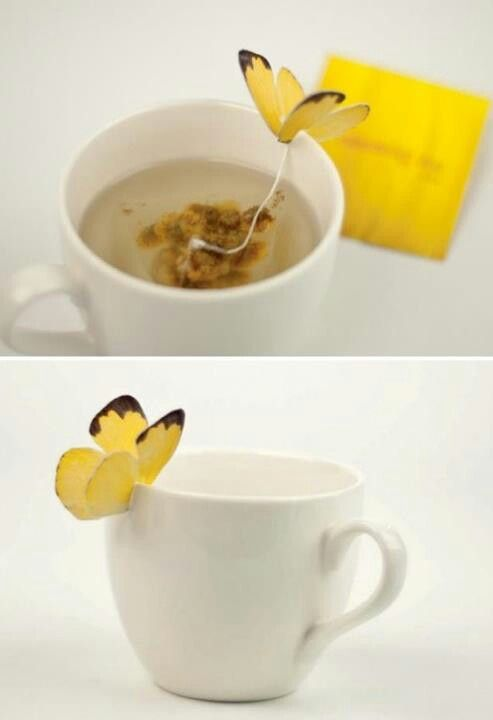 Creative tea bag 'holder'