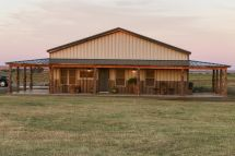 Metal Building Homes Barn House Plans