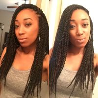 Senegalese Twist Hairstyle | Fade Haircut