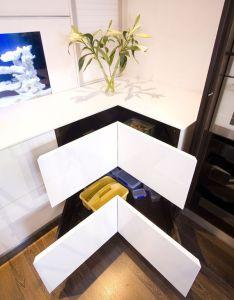 Cool home designs ideas insight inspiring best surprising material atmosphere modern kitchen design with aquarium backsplash white angular also awesome corner storage cabinets organization rh pinterest