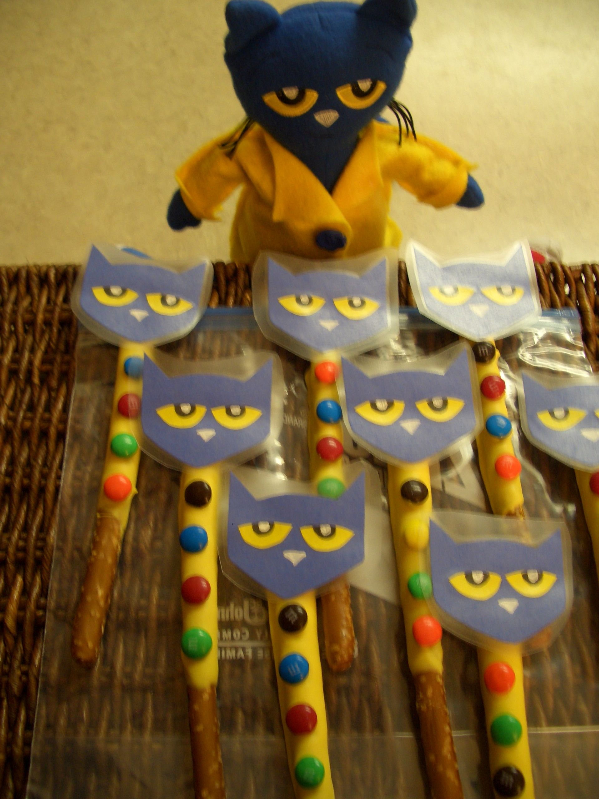 Pete The Cat And His 4 Groovy Buttons Chocolate Covered