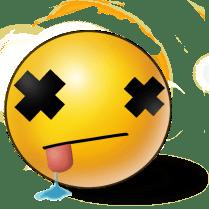 Image result for dead emoji