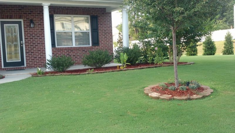 Landscaping Ideas For Front Yard Ranch House With A Front Porch