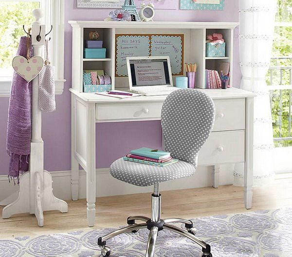 image result for white study desk | girls' room | pinterest