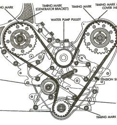 engine timing belt diagram [ 1337 x 857 Pixel ]