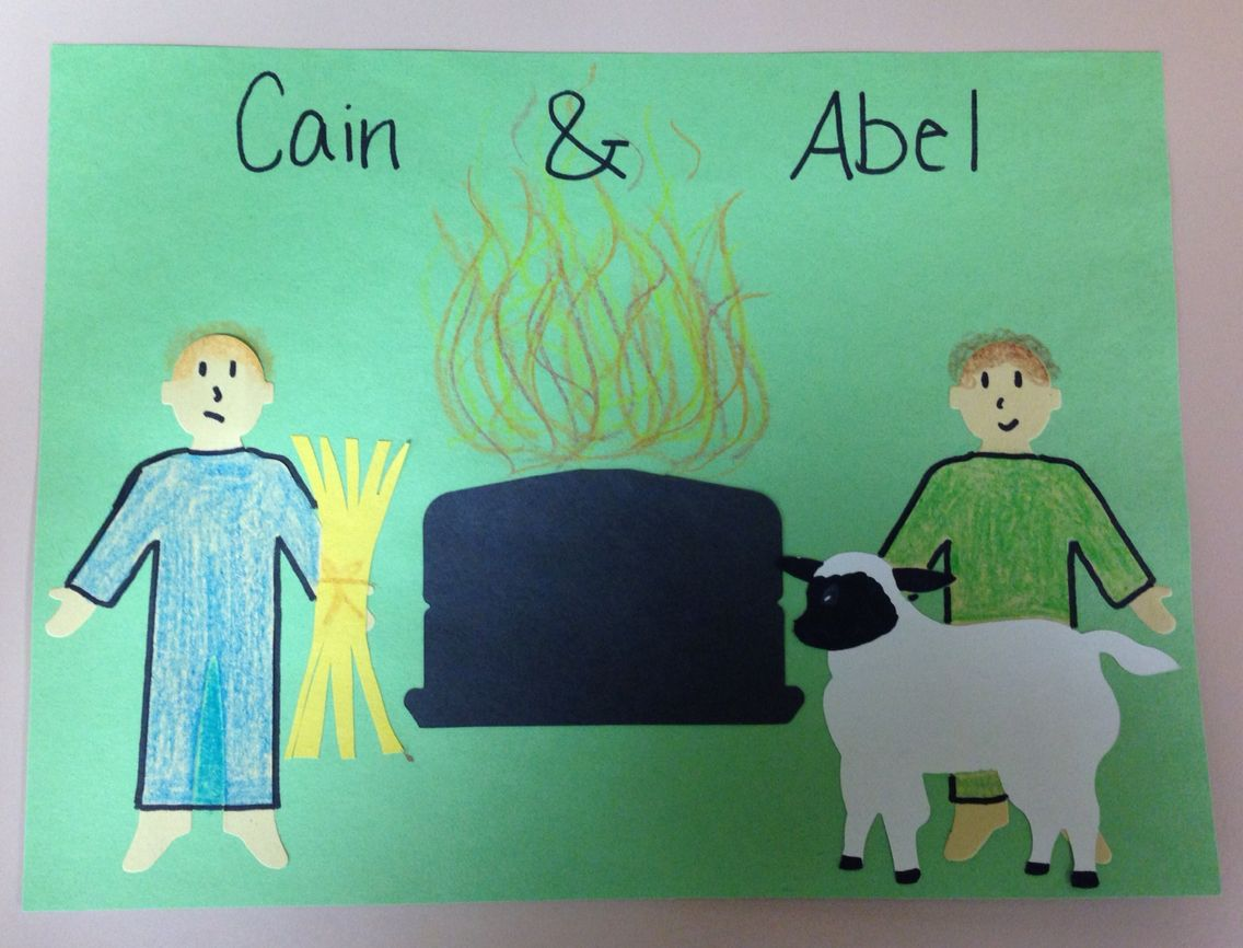 Simple Cain And Abel Craft For 2 Yr Olds