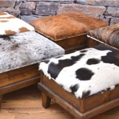 Rustic Leather Chair Electric Execution Gone Wrong Best 25+ Cowhide Ottoman Ideas On Pinterest | Decor, Western Decor And Animal Print