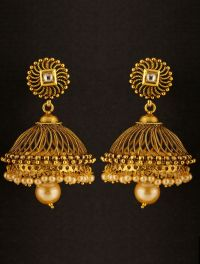Pin by Eman on Jhumka | Pinterest | Indian jewelry, Ear ...