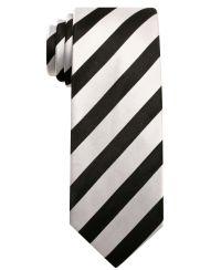 Alfani RED Tie, Skinny Bar Stripe - Mens Ties - Macy's ...