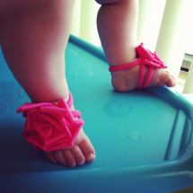 Baby Barefoot Sandals - Girl Toddler