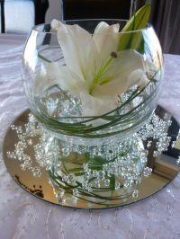 Centerpiece: Bubble Vase with Mirror