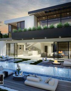Dream home luxury grand mansion wealth and pure elegance modern also volumen jardinera  pinteres rh pinterest