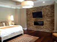 Master bedroom - Virginia Ledgestone - Accent Walls ...