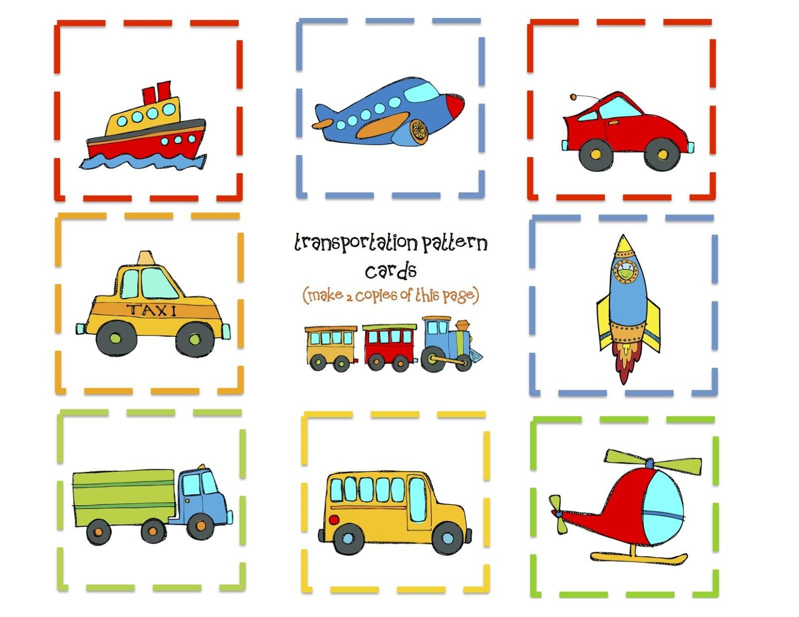 Transportation Sorting Worksheet