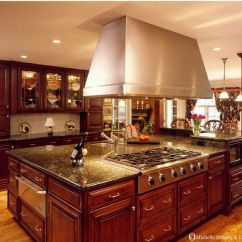 Tuscan Kitchen Island How To Decorate A Table Verde Peacock Granite Dream Home Pinterest Beautiful