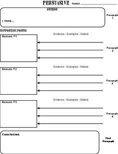5 Paragraph Essay Outline Example How To Write A 5 Paragraph Essay