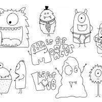 Free Monstre   Projets à essayer   Pinterest   Monstres ...