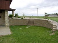 curved and stepped retaining wall... | Dreaming of Outside ...