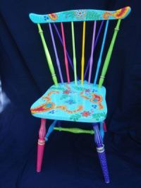 Funky Hand Painted Furniture | Hand Painted Chairs / kg ...