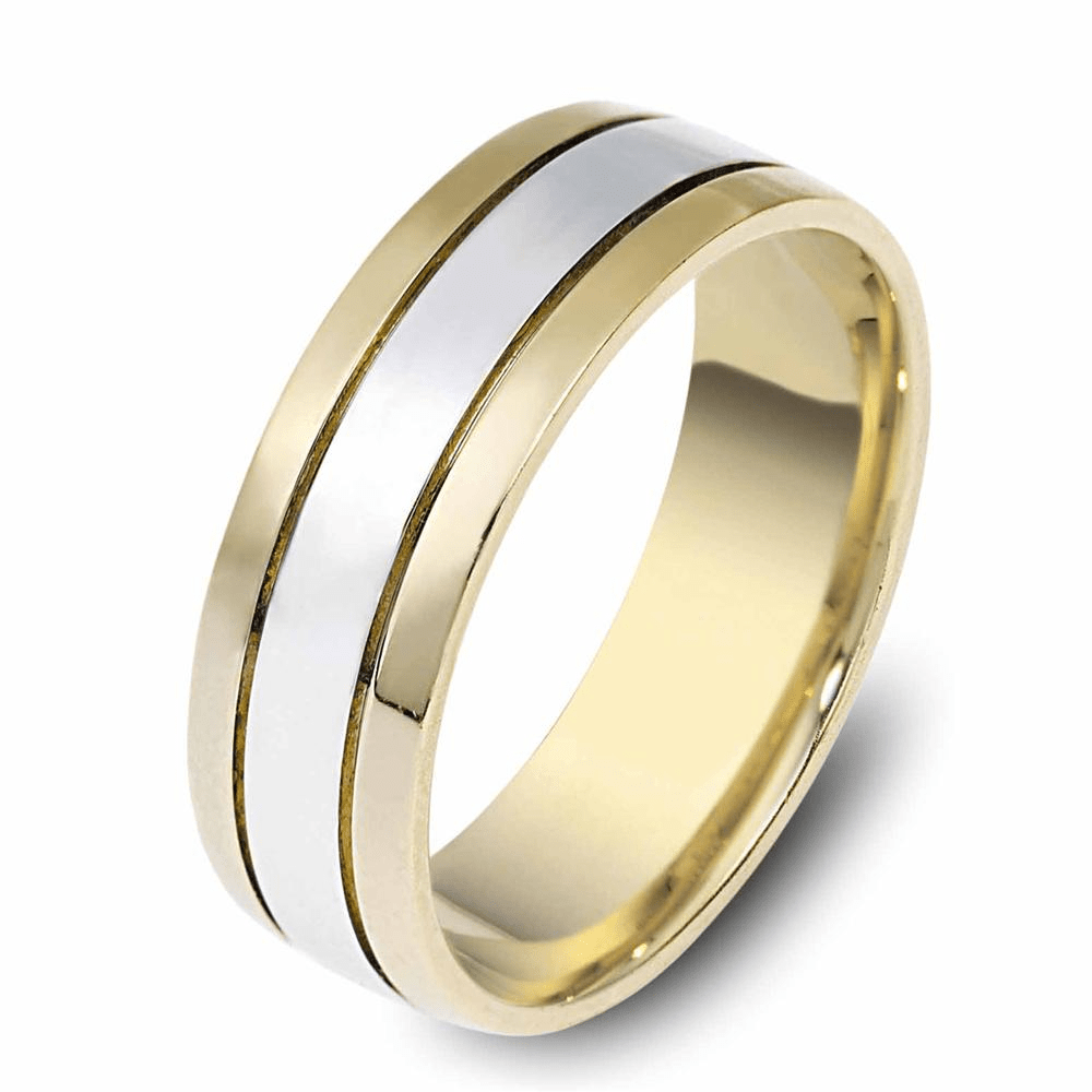 Mens Wedding Rings Within Yellow Gold Mens Wedding Rings