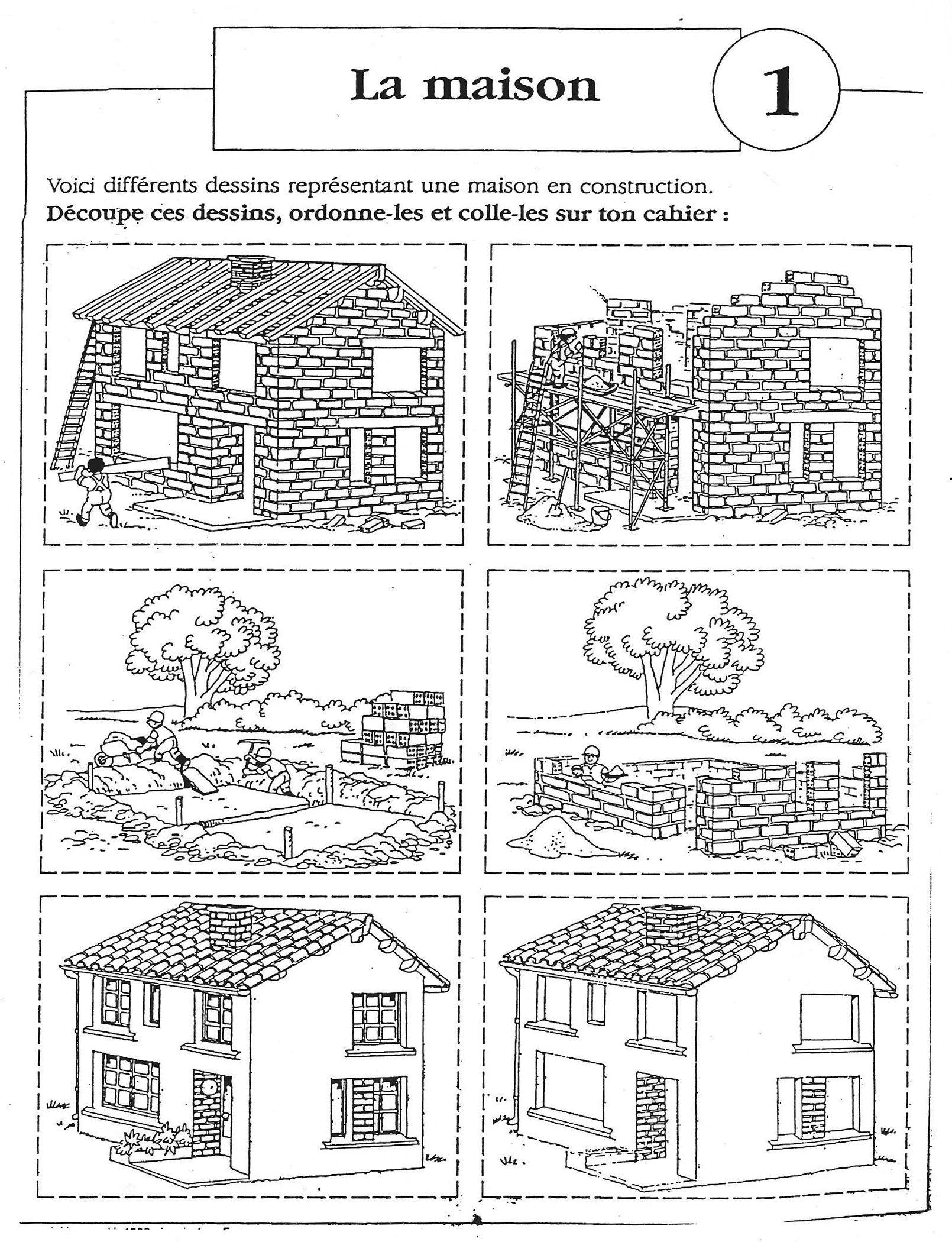 Images Sequentielles La Construction De La Maison 6
