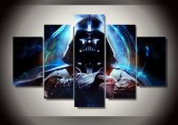 Framed Printed Star Wars 5 piece picture painting wall art ...