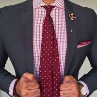 Grey Suit White Shirt Red Tie | www.pixshark.com - Images ...