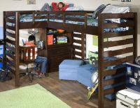 Ball State Corner Loft Bed, I need this for the boys room ...