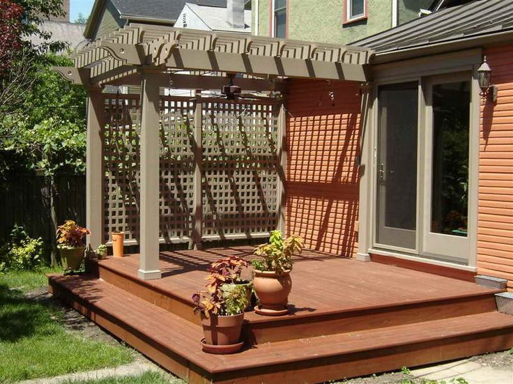 Simple Pergola No Plans Included Great Outdoors Pinterest