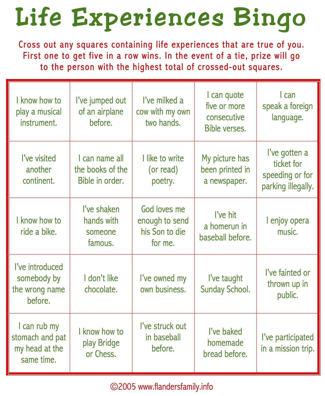 Ice Breaker Bingo For Adults 1 946 2 372 Pixels