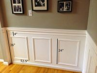 Little Brick Home: How to Install Picture Frame Moulding