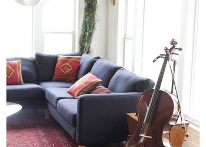 House tour  lovingly cluttered fresno apartment southwestern style front rooms and spaces also