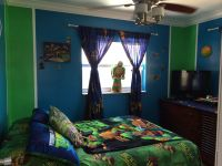 Tmnt Room - Blue and Green | Bedrooms/Bathrooms ...