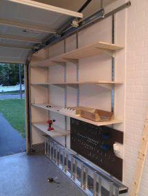 Garage Wall Storage Shelf Ideas