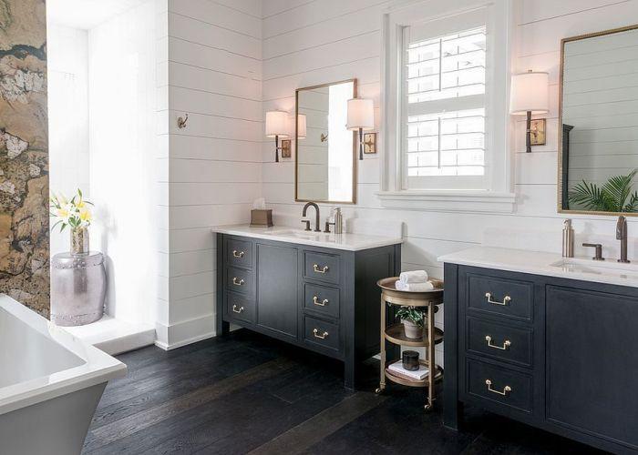 Inspirational interior home design ideas for living room bedroom kitchen and black vanity bathroomblack also