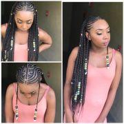 feed tribal braids ig hairbykey