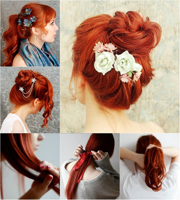 Beautiful Red Hair Styles For Young People Schöne Rote