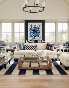 Beautiful coastal themed living room decorating ideas to make your home so cozy also rh uk pinterest
