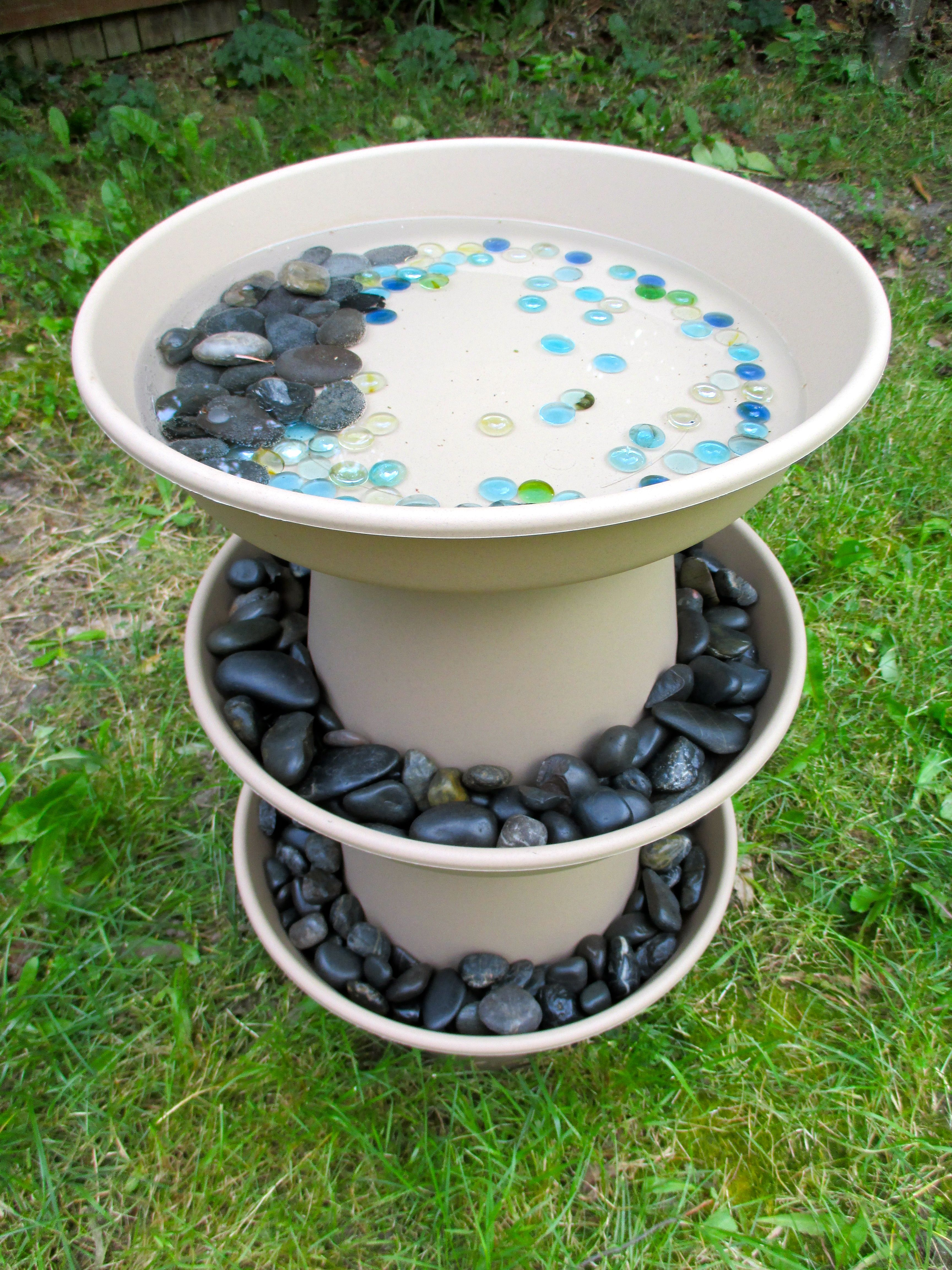 10 Beautiful DIY Bird Bath Ideas Gardens Project Ideas And