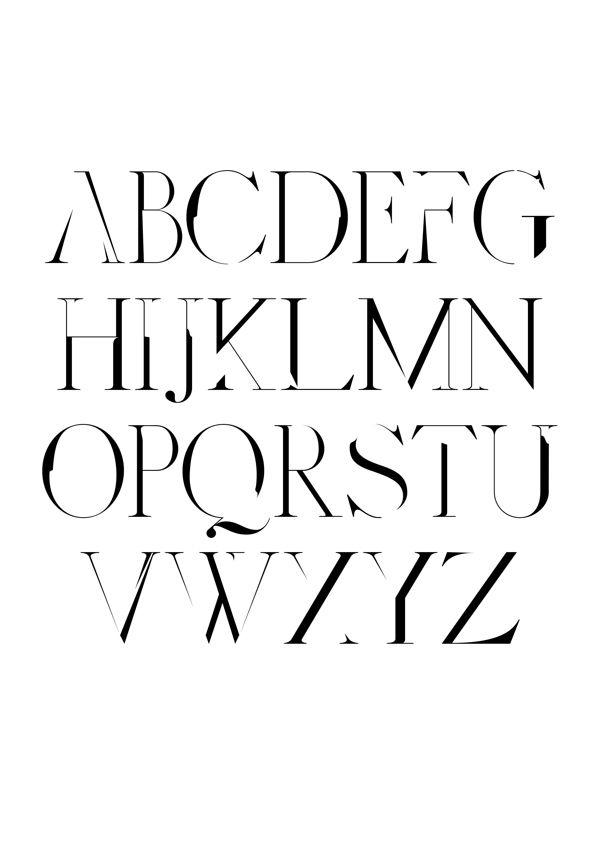Distorted Fashion Free Font by Scribblez Grafix, via