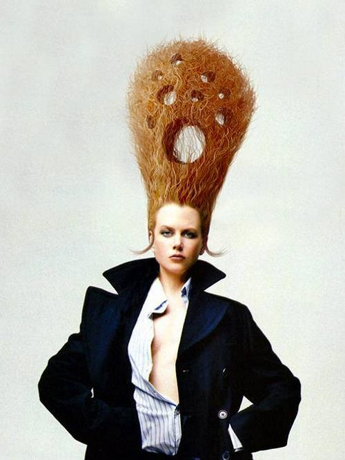 Crazy Hairstyles Image Gallery Impossibles The Head And Long