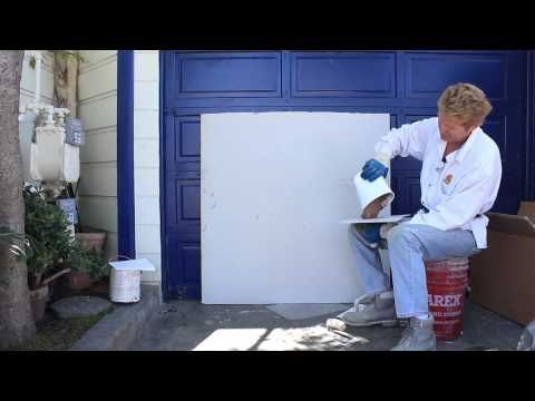 How To Do A Worm Finish With Stucco Plastering Tips And