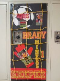 Locker decor Soccer | Soccer | Pinterest | Lockers, Locker ...