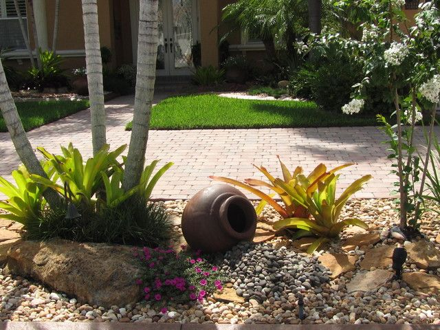 Front Yard Landscaping With Rocks Landscape Ideas For Front Yard