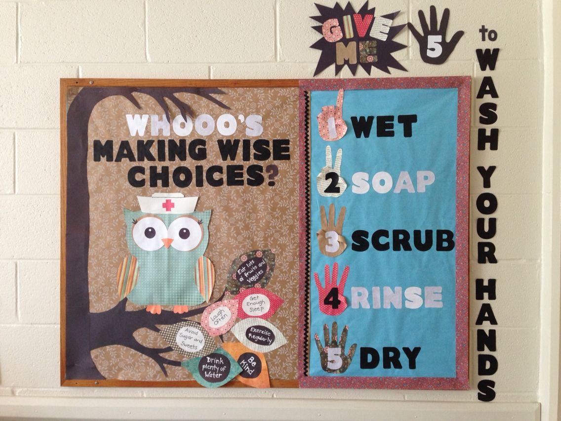 School Nurse Health Bulletin Boards
