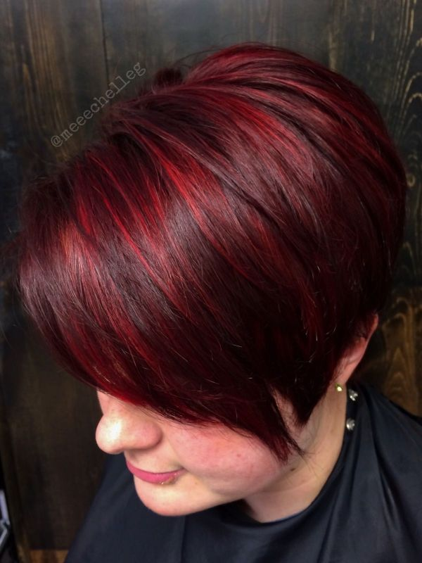 Bright Red Highlights Stand Candy Apple