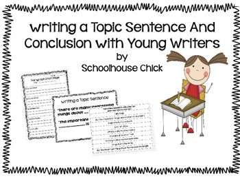 Writing Topic Sentences and Conclusions with Young Writers