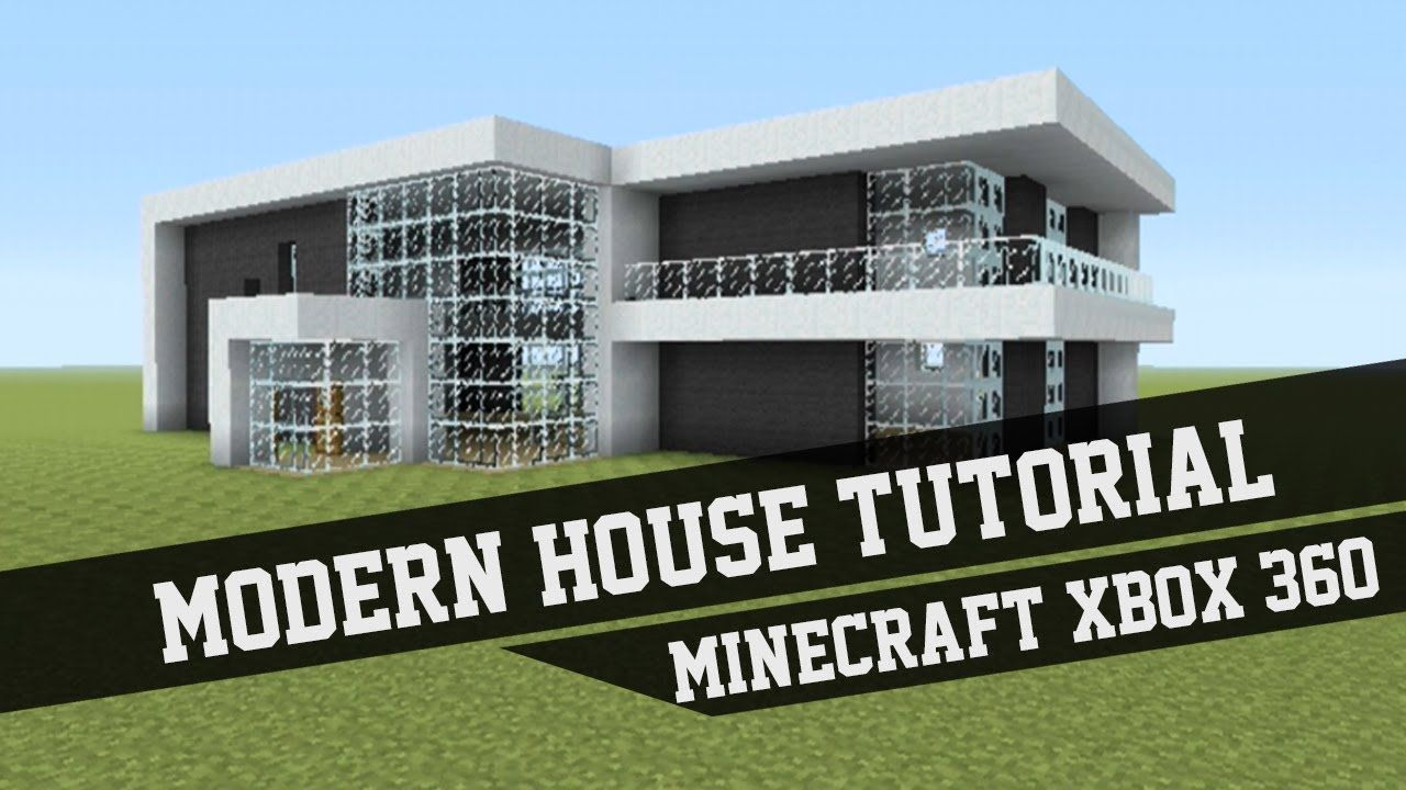 Large Modern House Tutorial Minecraft Xbox 360 #1 Minecract