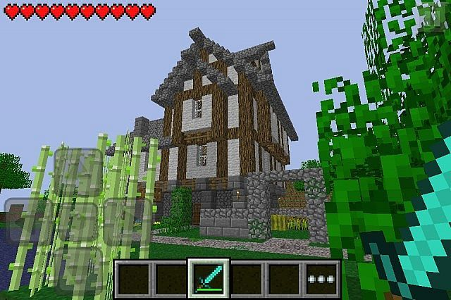 Minecraft Amazing House Map Minecraft POCKET EDITION House